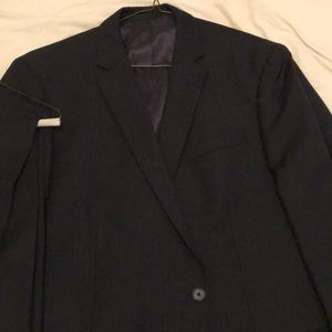Kenneth Cole reaction baby pinstripe suit